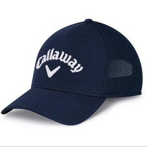 Callaway Tour Mesh Adjustable Golf Cap - Navy
